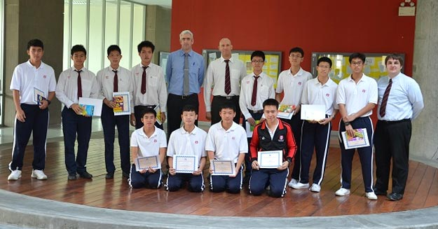 SpeedQuizzing used for Year 10 Academic Challenge at Thailand School