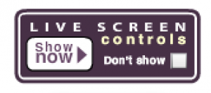 Live Screen Purple button